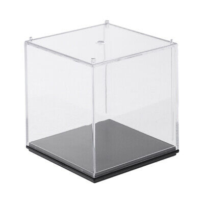 MagiDeal Model Display Clear Case Acrylic 7x7x7cm for Action Figure Doll Box