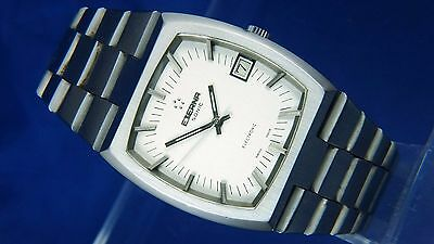 1970s Retro Vintage Eterna Sonic Electronic F300Hz Mosaba Watch SERVICED