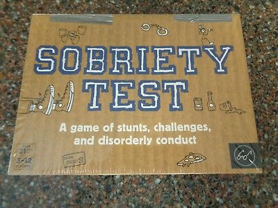 Sobriety Test Adult Party Drinking Game
