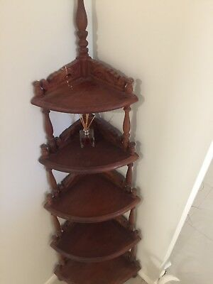 5 Tier Solid Timber Balinese Style - Wotnot Display Stand