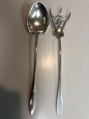 Sterling Silver, Salad Set, By Towle, Lafayette Pattern, No Monograms