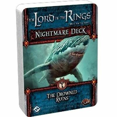 Lord Of The Rings Lcg The Drowned Ruins Nightmare Deck