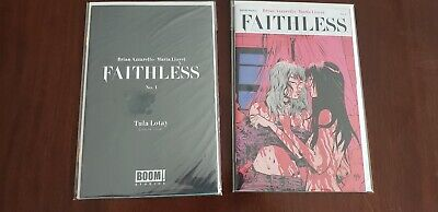 Faithless #1 Tula Lotay Erotica Variant Set Of 2 Boom Studios, Nm Or Better Cond