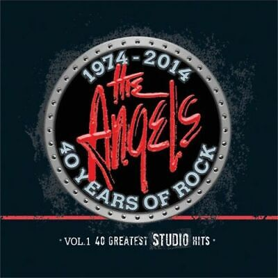 The Angels - 40 Years Of Rock - Vol 1: 40 Greatest Studio Hits * New Cd