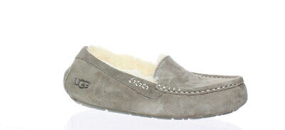 5557782e14c UGG WOMENS HAILEY Black Moccasin Slippers Size 9 (156310) -  55.99 ...
