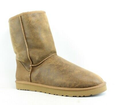 UGG Mens Brown Snow Boots Size 17 (170999)
