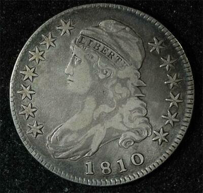 1810 Capped Bust Half:  could go VF