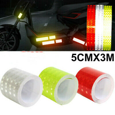 Self Adhesive High Intensity Safety luminous Vinyl Stickers Reflective Tape US