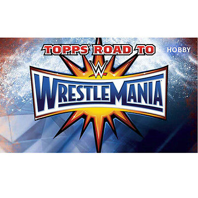 2017 Topps Wwe Road To Wrestlemania Complete 100-Card Bronze Parallel Set