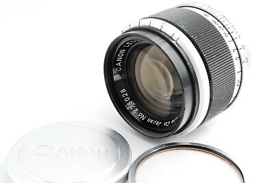 【Exc+++++】 Canon 50mm f1.8 Lens Leica Screw Mount L39 LTM from Japan 397