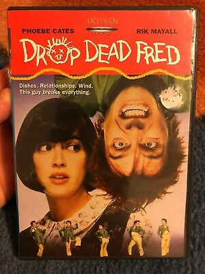 DROP DEAD FRED (1991) DVD OOP! RARE! (Artisan, 2003) Cates Mayall Fisher cult