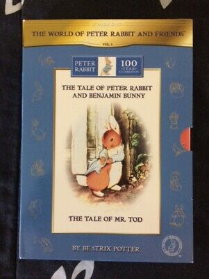 The World of Peter Rabbit & Friends DVD Volume 1 Beatrix Potter 2 Pack DVD set