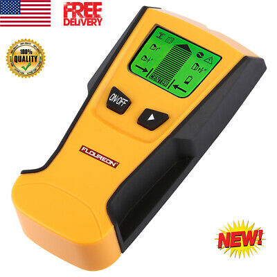 3 In 1 Digital LCD Wall Metal AC Live Wire Detector Stud Center Finder Scanner