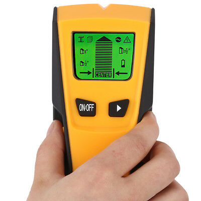 3in1 Digital Wall Wood Stud Center Finder Metal & AC Live Wire Detector Scanner