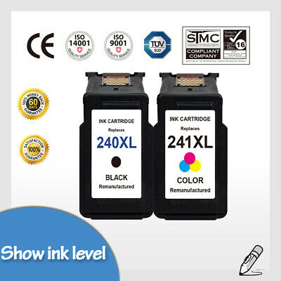 PG-240XL CL-241XL Black & Color Ink Cartridge for Canon Pixma MG3620 TS5120