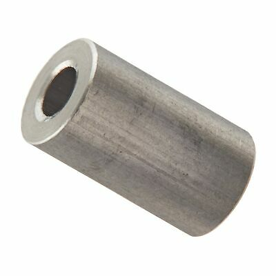 0.125 Length, 1//4-20 Screw Size Round Standoff Stainless Steel 0.5 OD Pack of 10 Female