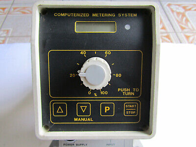 Electronic Metering Equipment Control Metering Pump Model Cms2804 V Ext New
