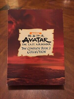 AVATAR : The Last Airbender • The Complete Book 3 Collection • (5 DVD Set, 2008)