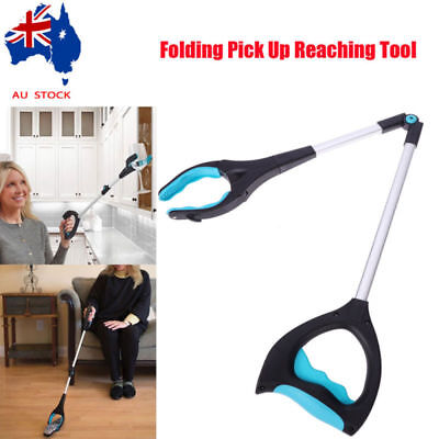 Foldable Pick Up Tool Easy Reach Grab Grabber Stick Extend Reacher  VIC Stock AU