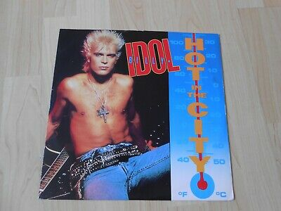 """Billy Idol – Hot In The City  1987 UK 12"""""""