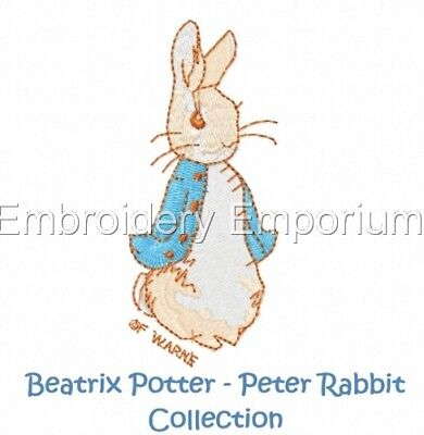Beatrix Potter - Peter Rabbit Collection - Machine Embroidery Designs On Cd/Usb