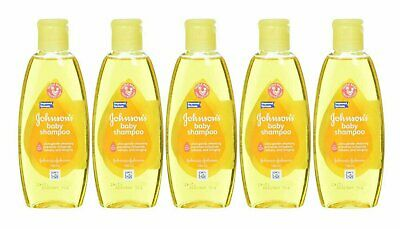 Johnson & Johnson Baby Shampoo 100 Ml (3.5 Oz) (5 Pack)