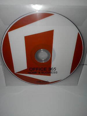 Dvd - Office 365 Home Business - 32/64 Bit Full - Italiano (Microsoft)