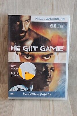 DVD He got game - Denzel Washington - Neuf sous blister