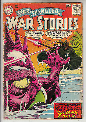 Star Spangled War Stories  V1 #120  Vg+/ Fn  1965  American D.c Comic