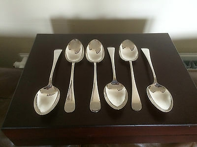 """Lovely Selection Of Large Silver Plated Serving Spoons. All 8.25"""" Long"""