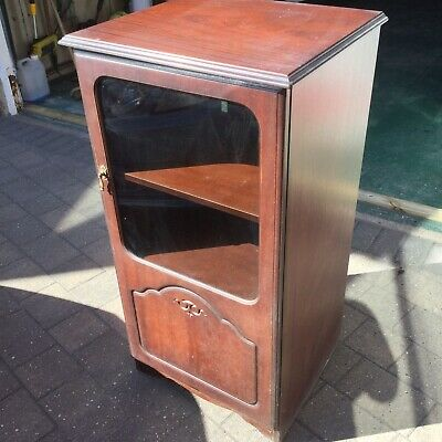 vintage mahogany furniture / Retro Stereo Cabinet