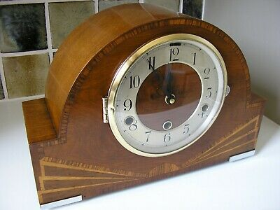 1930's  'ART DECO MANTLE CLOCK – CONVERTED