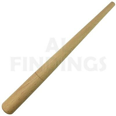 "12"" Wooden Ring Mandrel Steel shaping forming Hammering Jewellery Craft Tool"