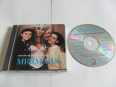 Mermaids - Original Motion Picture Soundtrack (CD 1990) USA Pressing