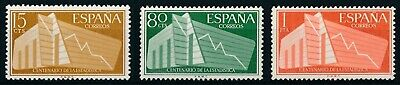 [H17718] Spain 1956 Good set of stamps very fine MNH