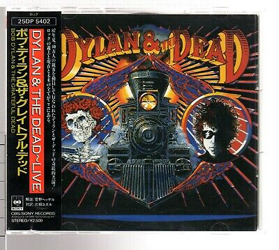 Bob Dylan & The Grateful Dead,Dylan & The Dead,Japan CD,Obi