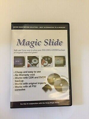 PS2 - Swap Magic - 2-Disc Set - NTSC - CD & DVD With Slide Card