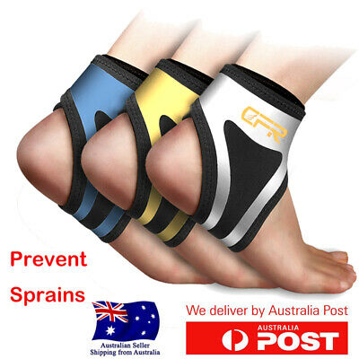 Ankle Support Brace Compression Foot Wrap Strap Achilles Sprain Arch Stabiliser
