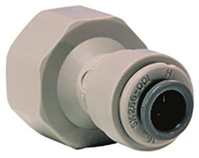 """John Guest Rohrsteckverbinder Conical Straight 1/2 """" Bsp Pipe Connection 3/8 """""""