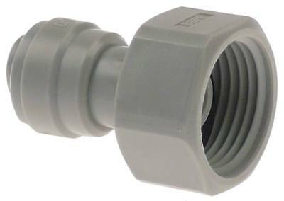 """Dmfit Rohrsteckverbinder with Approach Straight 5/8 """" Bsp Pipe Connection 3/8 """""""