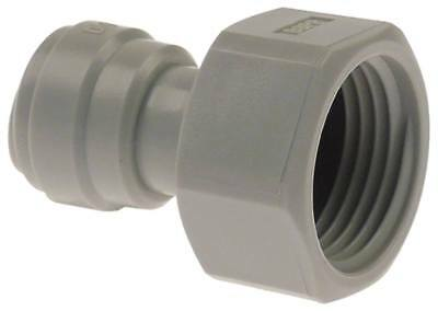 """Dmfit Rohrsteckverbinder Flat Sealing Straight 5/8 """" Bsp Pipe Connection 3/8 """""""