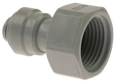 """Dmfit Rohrsteckverbinder Flat Sealing Straight 5/8 """" Bsp Pipe Connection 5/16 """""""