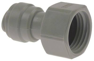 """Dmfit Rohrsteckverbinder Flat Sealing Straight 1/2 """" Bsp Pipe Connection 3/8 """""""