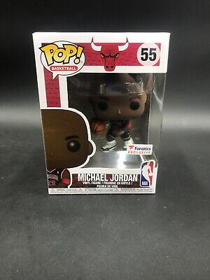 Funko POP! NBA Chicago Bulls Michael Jordan 23 Fanatics Exclusive #55 NEW