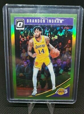 c3fb6d66798 2018-19 Donruss Optic Lime Green #64 Brandon Ingram /149 Los Angeles Lakers