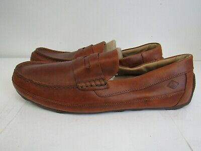 b17892a6ec7 Sperry Top-Sider Men s Slip-On Hampden Penny Loafers STS10721 SZ 11.5 N544