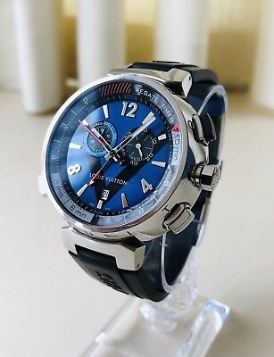 8c03dfe0cc Louis Vuitton Tambour Regatta Limited Ed. Sea Faring Men's Watch RRP £3459  + Box