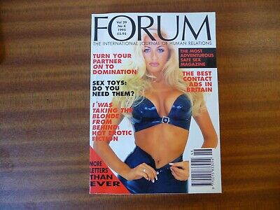 fetish magazine FORUM vol 29 number 4