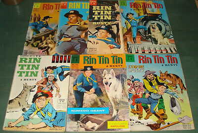 Lot RIN TIN TIN & RUSTY - 7 albums - BD Sagédition