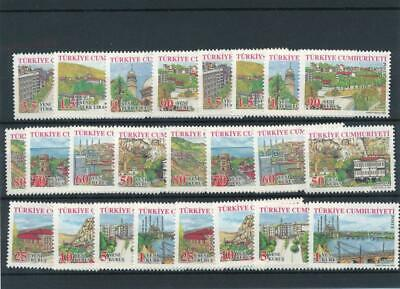 [123091] Turkey good lot of stamps very fine MNH